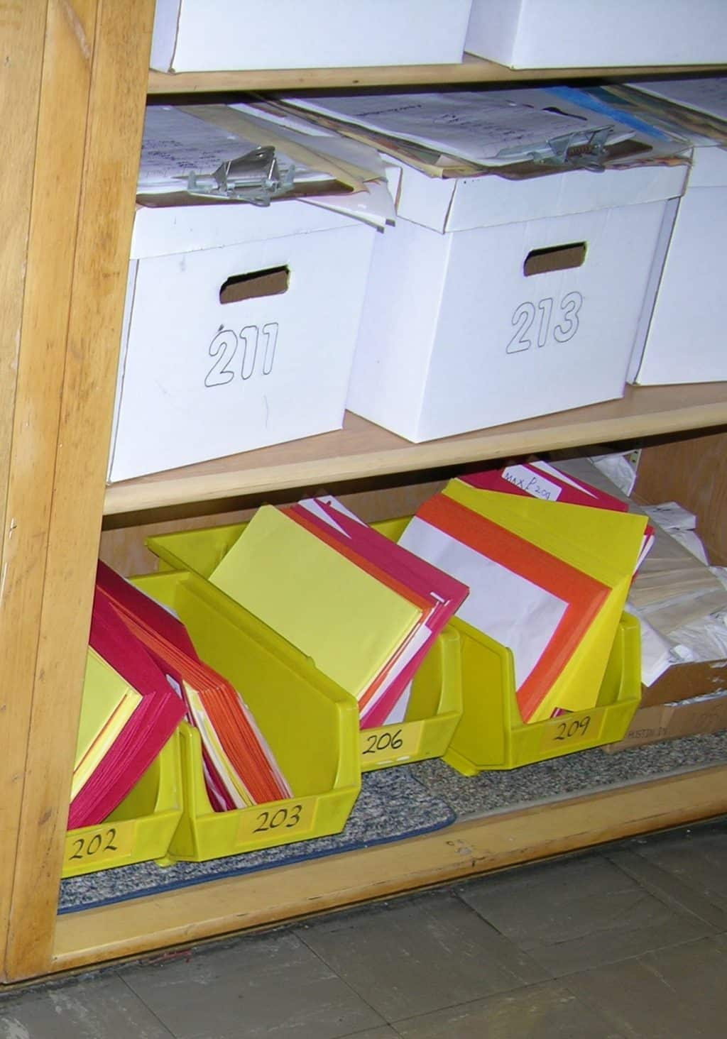 Lidded White Boxes
