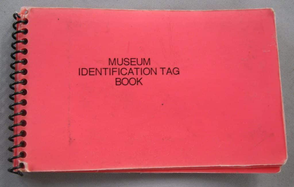 Museum ID Tags 9-12