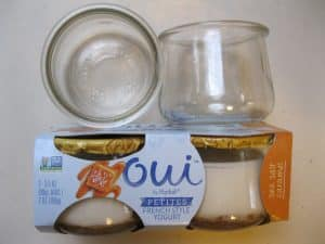 A Great Find: Glass Yogurt Jars